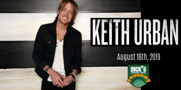 2019 DICK'S Sporting Goods Open - Keith Urban