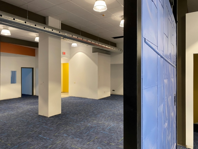 In Syracuse, renovations are nearing completion in the new 15,000-square-foot building