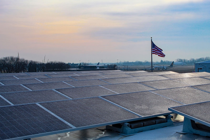 C&S solar array