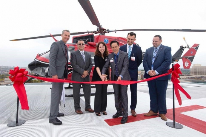 St. Joseph's Health Care Flight Helipad