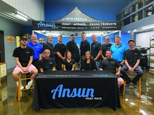 Ansun Graphics 2020 Team Photo