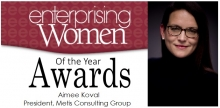 2019 Enterprising Women of the Year Award Recipient Aimee Koval